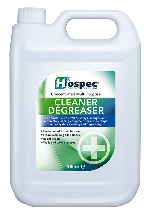 Hospec expert cleaning solutions for How to degrease concrete floor